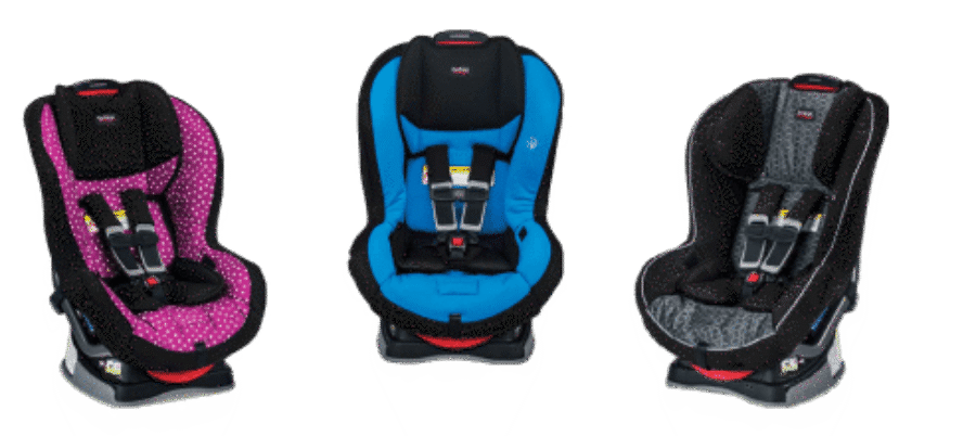 Emblem and Allegiance NonClickTight Convertible Car Seats
