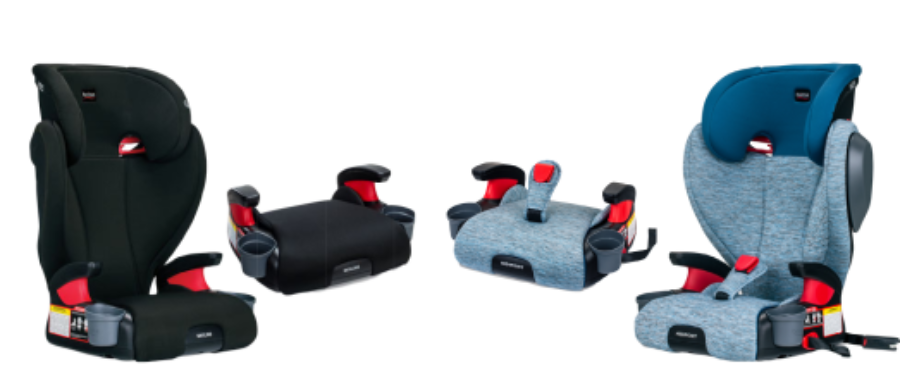 Skyline and Highpoint Belt Positioning Booster Seats