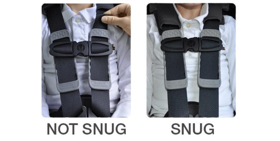 Tightening the Harness Snug Vs. Not Snug
