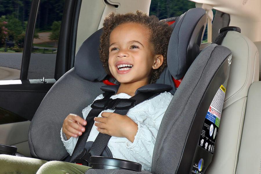 PreSchooler in a One4Life Car Seat