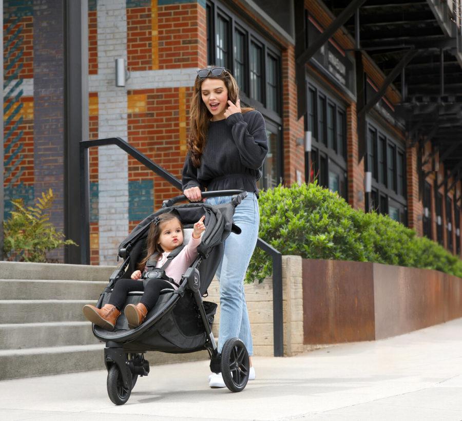 B Free Premium Stroller Lifestyle Image